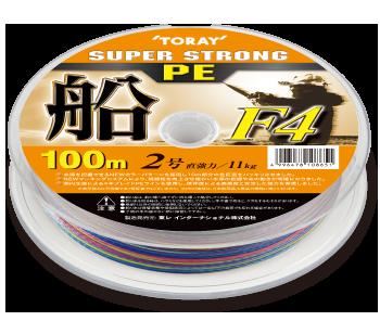スーパーストロング PE 船 F4 100mX12連結